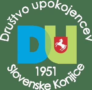 DU Slovenske Konjice logotip KROG_bel